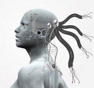 Cochlea-Implantat-Cyborg