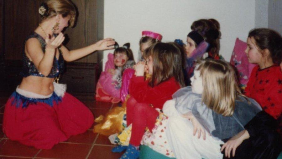 Bauchtanz auf Kindergeburtstag