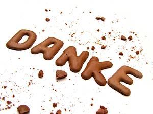 danke & grazie & dank u & merci & thank you