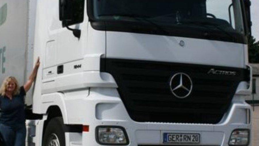 Das ist der Truck von Verena Künne