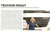 Hörgeschädigte Truckerin Verena Künne lässt wieder von sich lesen