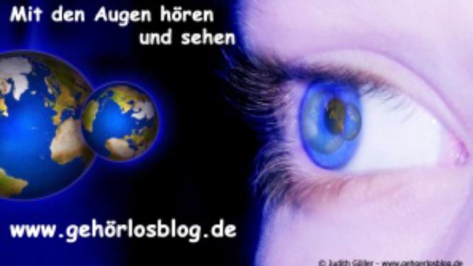 Gehörlosblog-Logo