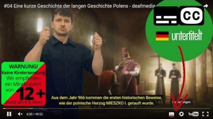 Deafmedia – Geschichte lebendig machen
