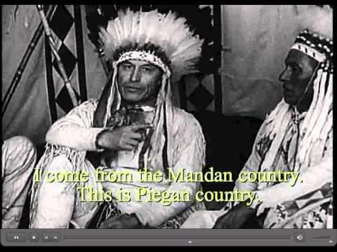 Uralte Gebärdensprache bei Indianern