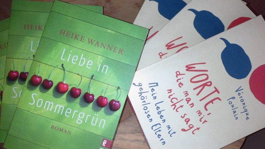Gehörlosblog-Gewinnspiel mit je 3 Büchern