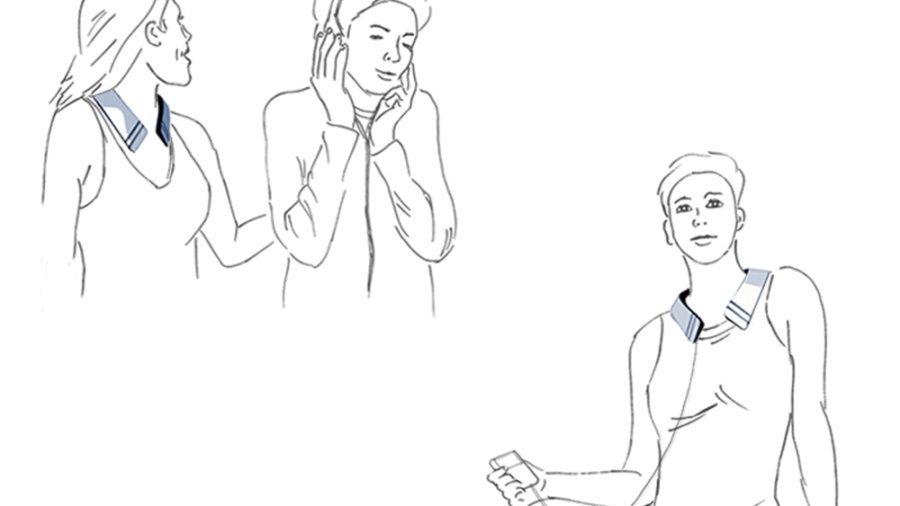 Deaf Music Collar