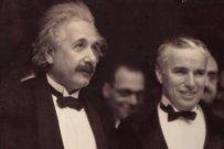 Wenn Charlie Chaplin Albert Einstein trifft