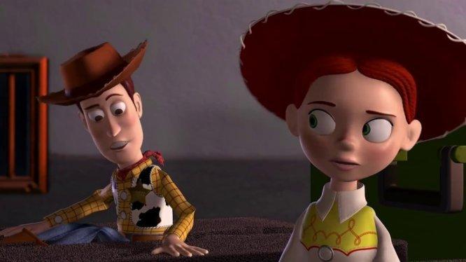 Augenarbeit Pixar-Filme