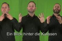 Bibel-Gebärdensprachdolmetscher Kilian Knörzer
