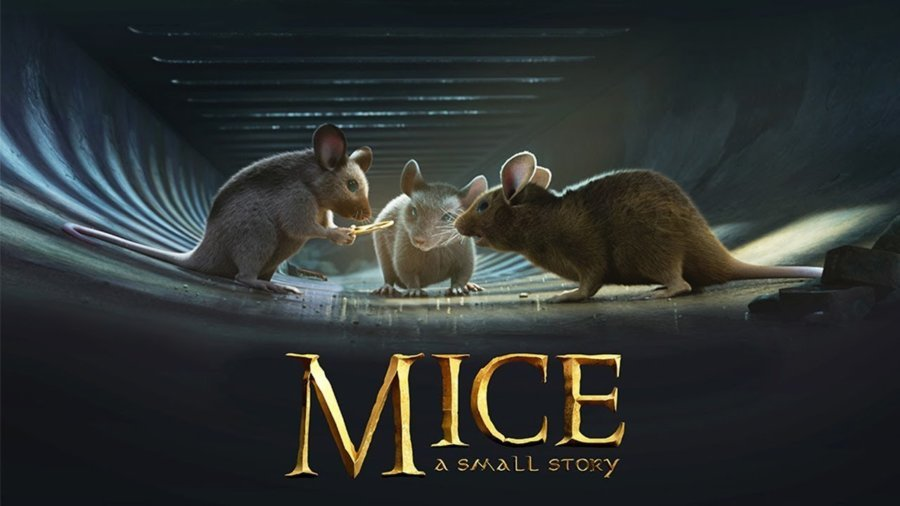 "Animationsfilm ""Mice – a small story"" nach Herr der Ringe"