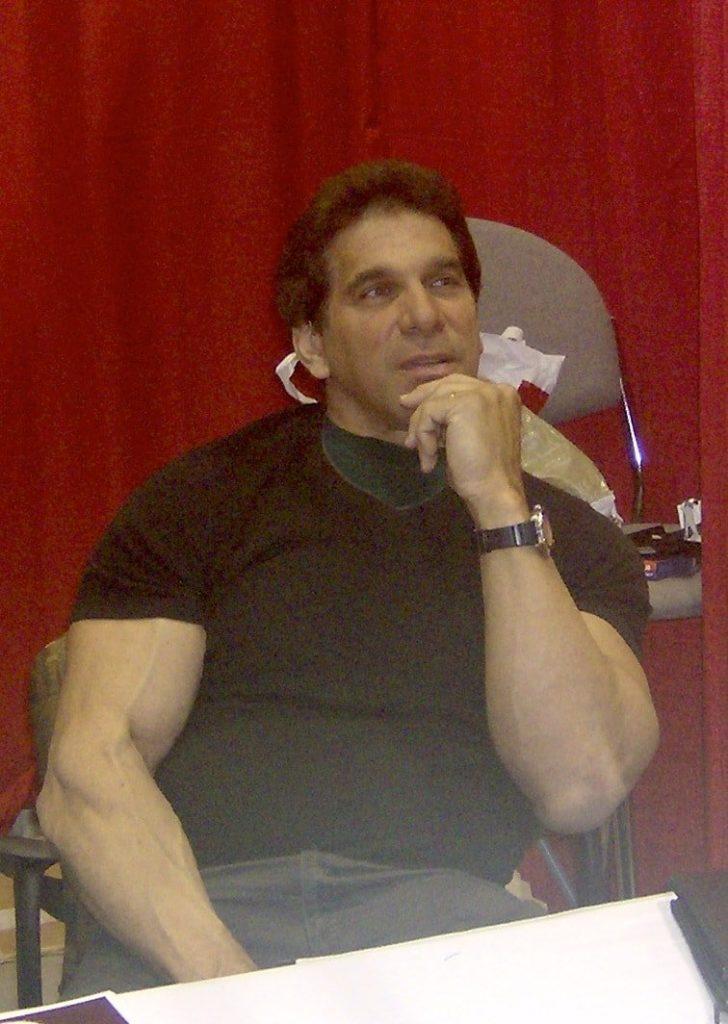 Der unglaublich schwerhöige Hulk Lou Ferrigno
