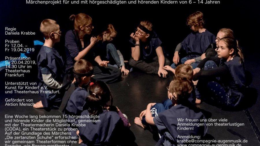 Theaterprojekt Wir können alles - Die zertanzten Schuhe (Fotoquelle: Compagnie Augenmusik)